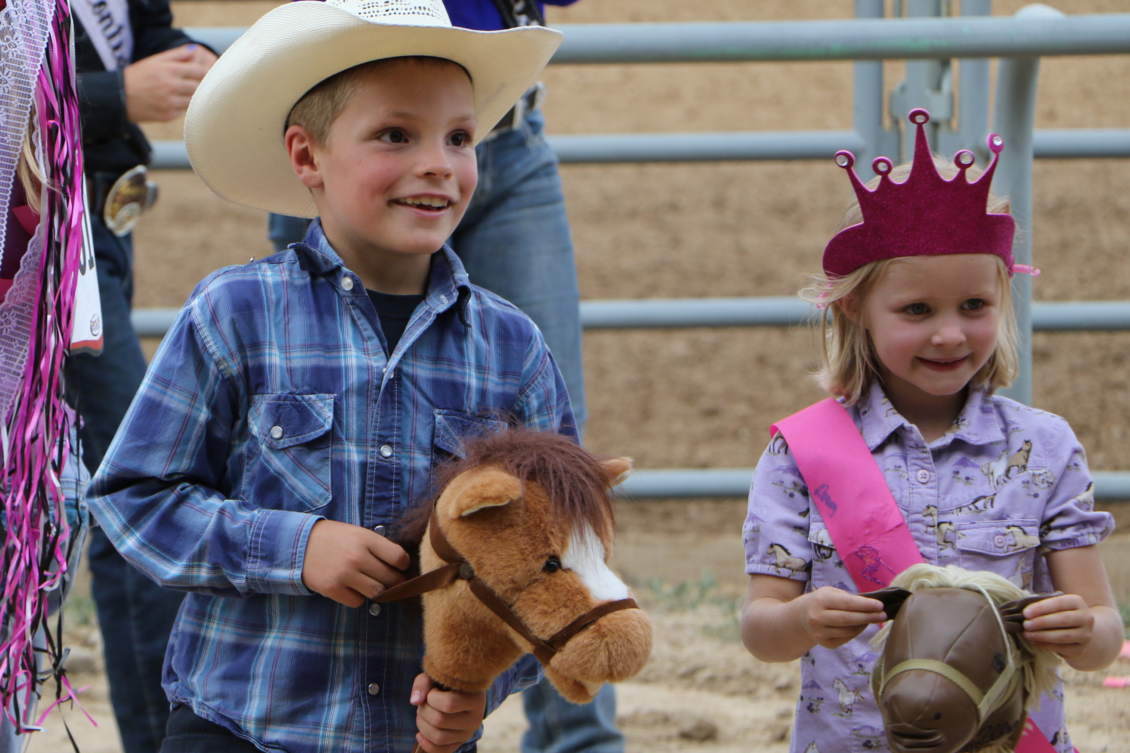 Lil' Buckaroo and Princess for a Day